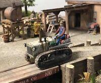 1/43 O Scale On30 Narrow Gauge Diecast Fiat Crawler Tractor