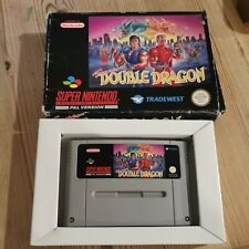 Super Nintendo Super Double Dragon Game Boxed SNES