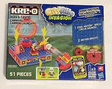 Kre-o Cityville Invasion Carnival Cannon Launch Brand New Sealed Set Kit