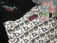 Bungalow 360 Kitty Cat Übër Cute Pocket Bag! All Natural Canvas, Übër Quality!