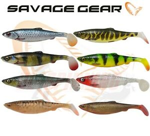 Savage Gear 4D Herring Shad 9cm11cm 16cm 19cm 25cm Soft Plastic Fishing Lures
