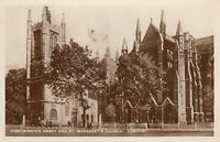 Postcard - London - Westminster Abbey and St Margaret's Church