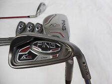 Brand New Ping K15 BLACK Dot 4H-PW Combo Iron Set REGULAR flex Steel & Graphite