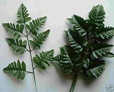 Huge Wholesale Deal of 144 Stems Of Silk Leather Leaf Fern GREENERY CASE LOT