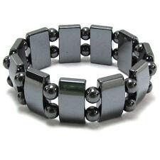 Magnetic Hematite Bracelet Pain Relief Energy Powerfull Elastic G2