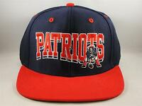 NFL New England Patriots Reebok Snapback Hat Cap Blue Red