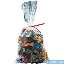 12x15 125 Mil Clear Flat Food Grade Plastic Poly Bags