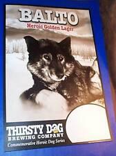 Balto Beer Bar Bar Sign Leonard Seppala Togo Siberian Husky Thirsty Dog Brewing