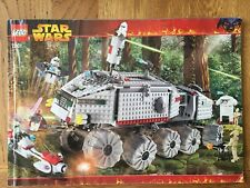 LEGO STAR WARS CLONE TURBO TANK INSTRUCTION  MANUAL 7261 Instructions only