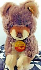 Steiff Vintage Cosy Raggy Raccoon 4820/20 Original Tag Button Price Tag