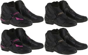 Alpinestars Womens Stella SMX-1 R CE Certified Motorcycle Boots Pick Size Color
