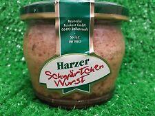"""(1,00�'�100g) Harzer Hausmacher SCHW�""""RTCHENWURST 200g Glas Ostprodukte,Keunecke"""