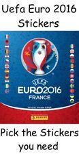 Panini UEFA Euro 2016 France Stickers FREE ALBUM Pick 30+ numbers you need.