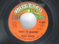 Rare Earth Born To Wander / Here Comes The Night 45 Rare Earth 1970