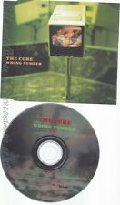 CD--THE CURE--WRONG NUMBER--PROMO