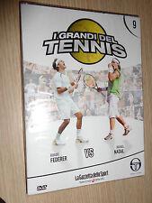 DVD N° 9 I GRANDI DEL TENNIS ROGER FEDERER VS RAFAEL NADAL