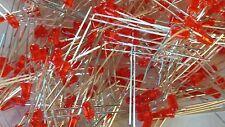 Diode électroluminescente LED rouge 3mm top-qualité 100 pièces dans le set 3336