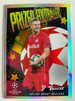 2019-20 Topps Finest UEFA CL Prized Footballers Erling Haaland RC Rookie Soccer