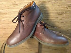 Mephisto OWEN Dark Brown Kenya 34551 Chukka Boots Men's $349 Size 11 US GUC