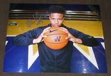 MARKELLE FULTZ SIGNED 11x14 inch PHOTO UW HUSKIES BASKETBALL AUTO NBA PROSPECT
