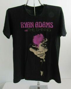 Ryan Adams & The Shining Official  2014 Concert Shirt Size S