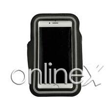Brazalete Deportivo Neopreno NEGRO para Samsung Galaxy S4 ZOOM a367