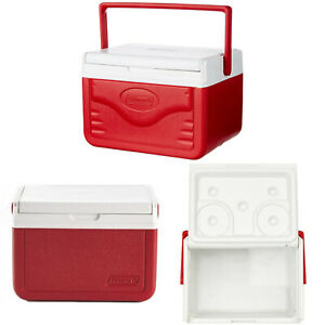 Personal Cooler Food Ice Chest Lunch Box 5 Qt Small Picnic Camping RED