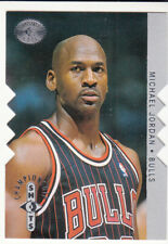 1995-96 UD Die Cut Silver SP Championship Shots Michael Jordan Chicago Bulls