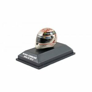 Schuberth Minichamps 1:8 Mini F1 Helmet Michael Schumacher Spa 2012