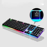 Mechanical Wired Gaming Keyboard Mouse Set Backlight For for PC PS4 PS3 Xbox One