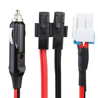 1.5m 30A 4Pin Short Wave Car Charger Power Cable for ICOM IC-7000 IC-7600 #Z