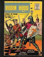 Robin Hood #3 ~ 1956 Series Quality / Scroll of Doom ~ (6.5) WH
