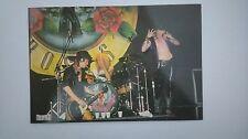 Guns N roses stage vintage music postcard POST CARD