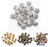 100 Pcs Tibetan Silver Retro Cone pattern Spacer Beads 6mm for Jewelry Making