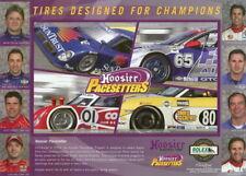 2006 Hoosier Pacesetters Grand Am postcard Pruett Diaz Taylor Angelelli Lally
