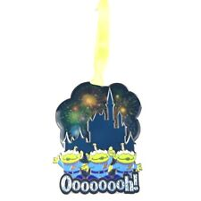 Disney Parks World of Color Holiday Ornament Toy Story Castle Silhouette Metal