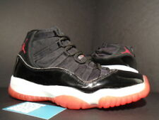 ada44bee674 1995 1996 OG Nike Air Jordan XI 11 BLACK TRUE RED WHITE BRED 130245-062