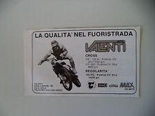 advertising Pubblicità 1981 MOTO VALENTI CROSS CR 125/250