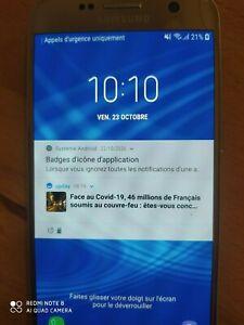 Samsung Galaxy S7 SM-G930F - 32 Go - Or,Samsung;Galaxy;Samsung;lire descriptif