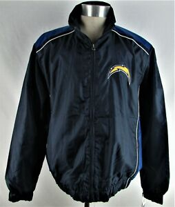 Los Angeles Chargers NFL Men's G-III Blue Full-Zip Jacket w/ Embroidered Logo