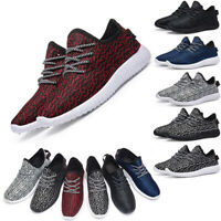 Women Mens Trainers Running Fitness Shoes Mesh Sports Sneakers Casual Breathable