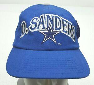 DALLAS COWBOYS Starter DEION SANDERS 90s Hat Cap Vintage Snapback #21 Prime Tags