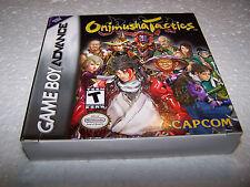 Onimusha Tactics-Gameboy Advance GBA-Coffret & complete-Near Comme neuf