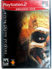 Twisted Metal Black (PS2) Complete - Clean,Tested & Fast Shipping