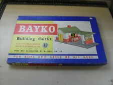 Bayko Meccano Vintage Complete Outfit 12 - Amazing Condition Parts Still Sealed