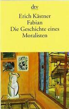 Fabian. Die Geschichte eines Moralisten von Kästner, Erich | Buch | Zustand gut