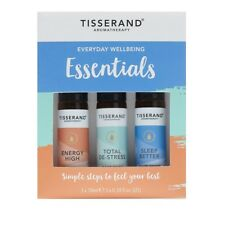 Tisserand Aromatherapy Everyday Wellbeing Essential Kit Roller Ball 3 x 10ml