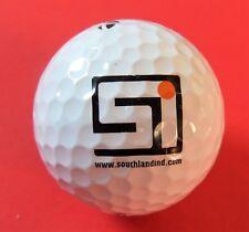 Pelota de golf con logo-Southland-southlandind-golf logotipo Ball-recuerdo talismán