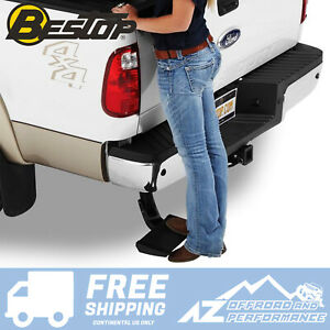 Bestop Trekstep Retractable Rear Step 07-14 Chevy Silverado & GMC Sierra Pickup