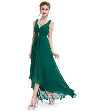 Ever-Pretty Bridesmaids Wedding Party Long Dresses 09983 Size 4 Dark Green 20